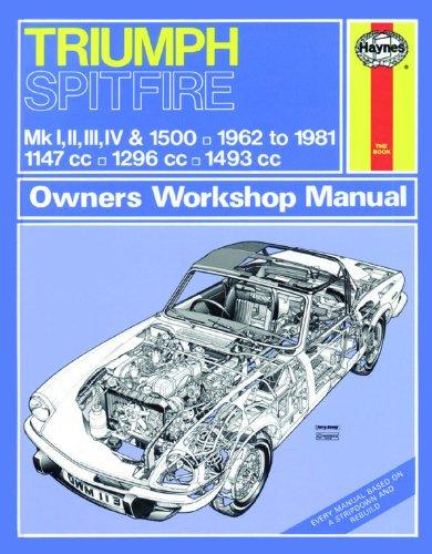 9780857336224: Trimph Spitfire Owner's Workshop Manual