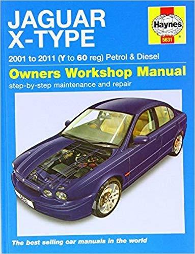 9780857336316: Jaguar X-type Petrol & Diesel Service and Repair Manual 2001 - 2011