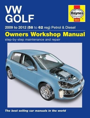 9780857336330: VW Golf Petrol & Diesel Service and Repair Manual (Haynes Service and Repair Manuals)