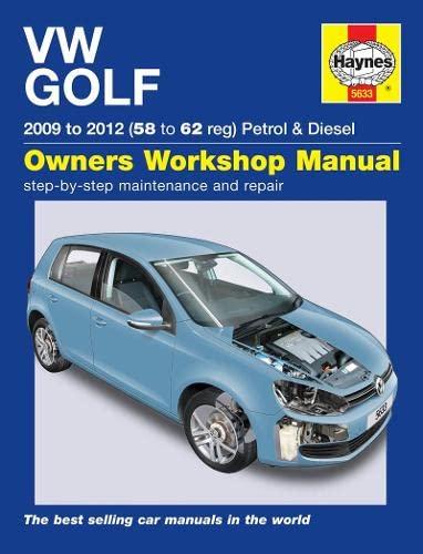 9780857336330: VW Golf Petrol & Diesel Service and Repair Manual (Haynes Service and Repair Manuals)