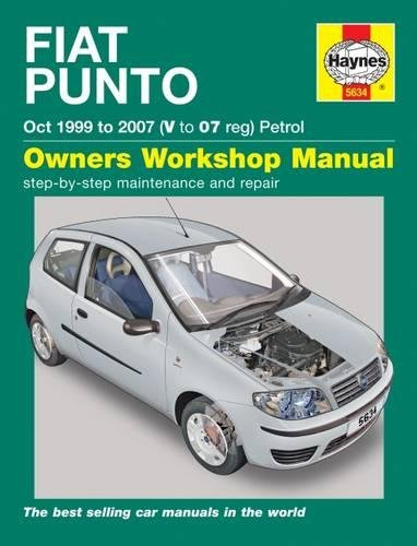 9780857336347: Fiat Punto petrol (Oct 99 - 07) Haynes Repair Manual