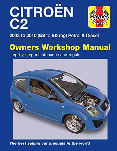 9780857336354: Citroen C2 Petrol and Diesel Owner's Workshop Manual