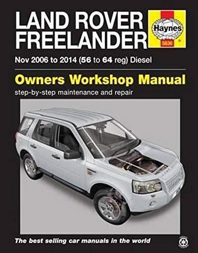 9780857336361: Land Rover Freelander Diesel Service and Repair Manual (Haynes Service and Repair Manuals)