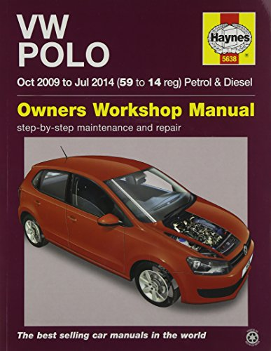 vw polo petrol and diesel owner s workshop manual 09 14 haynes rh abebooks co uk VW Polo 2007 vw polo 2006 service manual
