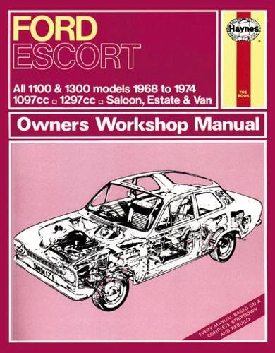 9780857336446: Ford Escort Mk 1 Owner's Workshop Manual (Haynes Service and Repair Manuals)
