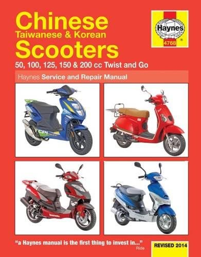 9780857336460: Haynes Chinese Taiwanese & Korean Scooters: 50, 100, 125, 150 & 200 CC Twist and Go