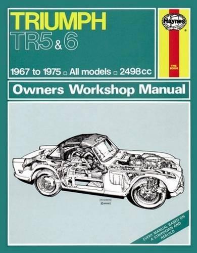 9780857336477: Triumph Tr5 & Tr6 Owner's Workshop Manual