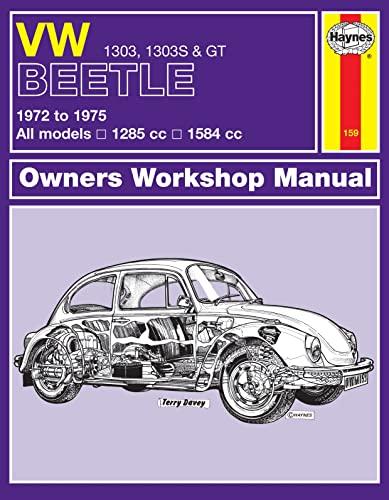 9780857336484: VW Beetle 1303 Owner's Workshop Manual
