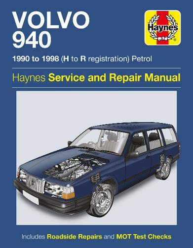 9780857336514: Volvo 940 Service and Repair Manual (Haynes Service and Repair Manuals)