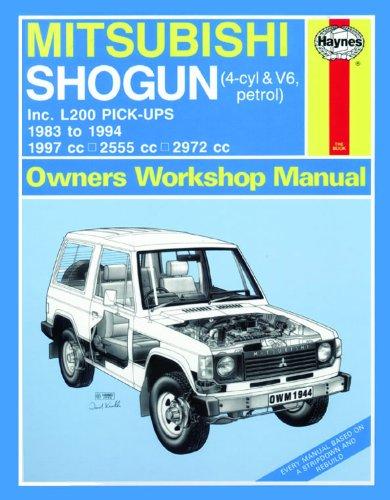 9780857336521: Mitsubishi Shogun & L200 Pick-Ups Service and Repair Manual (Haynes Service and Repair Manuals)