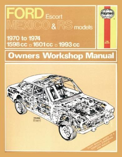 Ford Escort RS Mexico Owner's Workshop Manual: Haynes Publishing