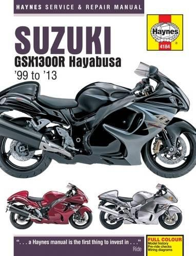 9780857336828: Suzuki GSX1300R Hayabusa Service and Repair Manual: 1999-2013 (Haynes Service and Repair Manuals)
