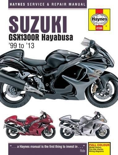 9780857336828: Suzuki Gsx1300r Hayabusa '99 to '13 (Haynes Service and Repair Manuals)