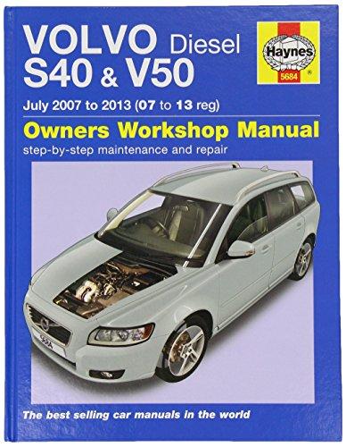 9780857336842: Volvo S40 & V50 Diesel (07-13) 07 to 62 (Haynes Car Workshop Manuals)