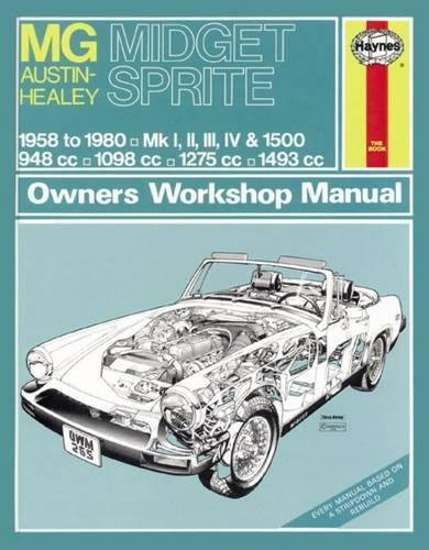 9780857336903: MG Midget and Austin Healey Sprite Owners Workshop Manual
