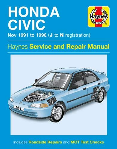 9780857336910: Honda Civic Service and Repair Manual (Haynes Service and Repair Manuals)
