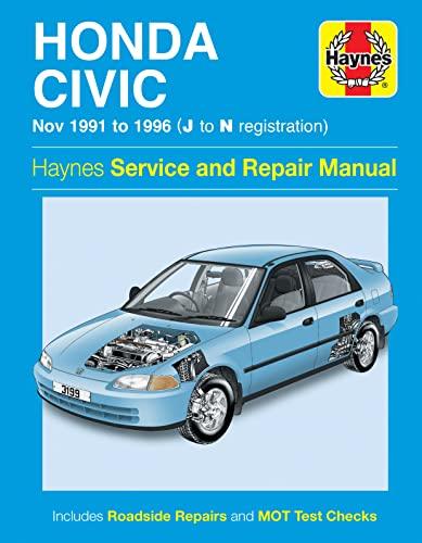 Honda Civic Service and Repair Manual (Haynes Service and Repair Manuals)