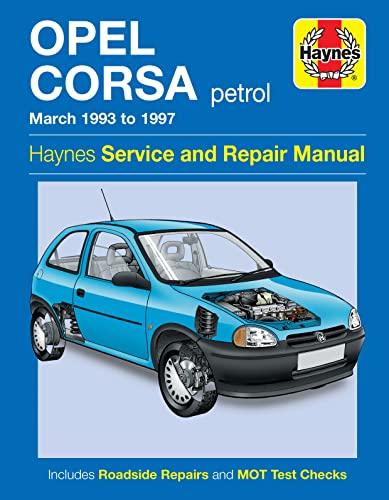 9780857336934: Opel Corsa Petrol (Mar 93-97) Haynes Repair Manual