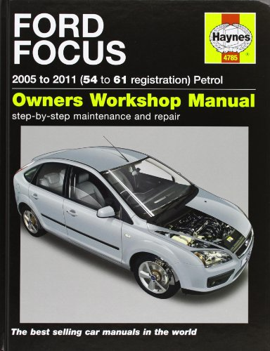9780857336996: Ford Focus Petrol Service and Repair Manual