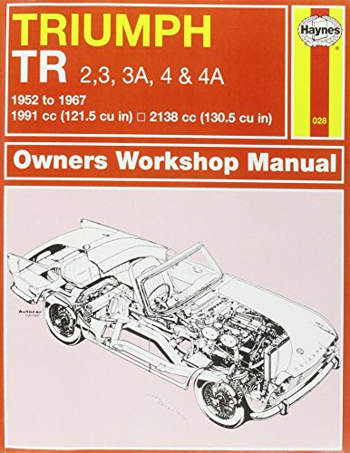 Triumph TR2/3/4 Owner's Workshop Manual (Haynes Service and Repair Manuals): J H Haynes & ...