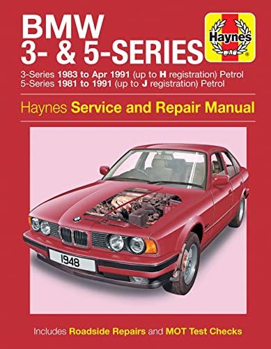 BMW 3 5 Series Petrol 81-91 Haynes Manual New