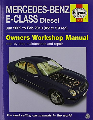 9780857337108: Mercedes-Benz E-Class Diesel Service and Repair Manual 2002-10