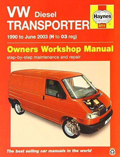 9780857337115: VW Transporter Diesel (T4) Service and Repair Manual