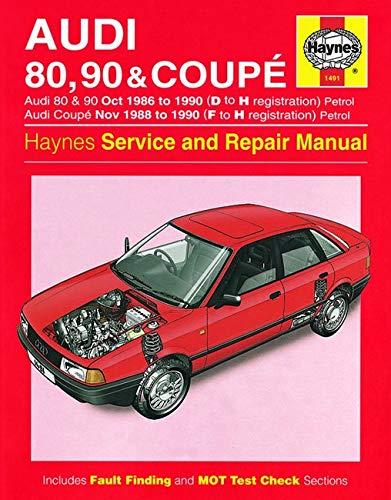 9780857337122: Audi 80, 90 & Coupe Owner's Workshop Manual (Haynes Service and Repair Manuals)