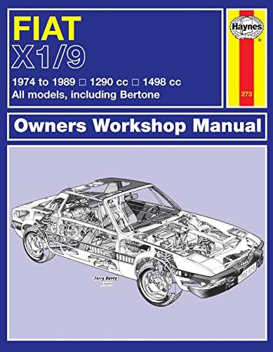 9780857337344: Fiat X1/9