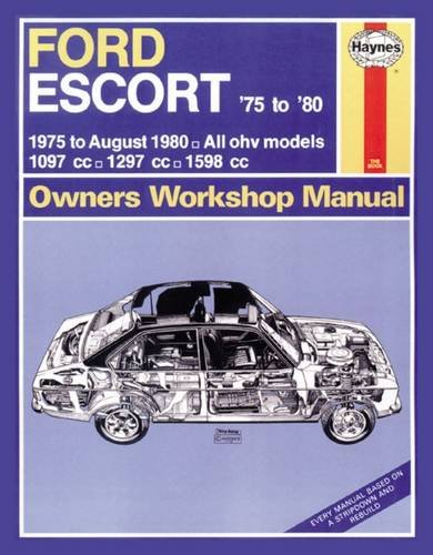 9780857337382: Ford Escort Owners Workshop Manual