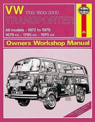 VW Transporter 1700/1800/2000 Owners Workshop Manual (Haynes Service and Repair Manuals): Anon