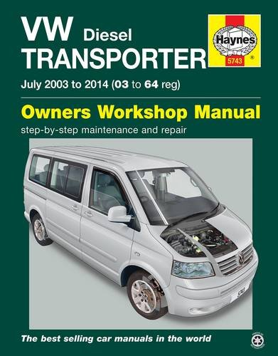 9780857337436: VW Transporter (T5) Diesel Owner's Workshop Manual (Haynes Service and Repair Manuals)