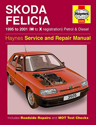 Skoda Felicia Owner's Workshop Manual (Haynes Service and Repair Manuals): Anon