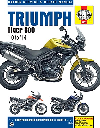 9780857337528: Triumph Tiger 800 Service and Repair Manual (Haynes Service and Repair Manuals)
