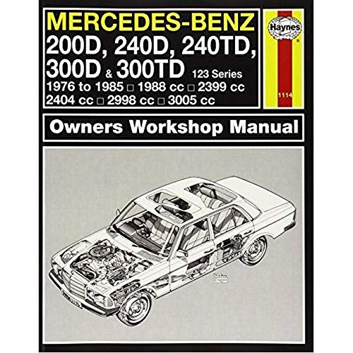 9780857337559: Mercedes-Benz 123 Series Service and Repair Manual (Haynes Service and Repair Manuals)