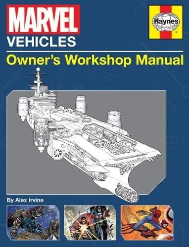 9780857337924: Marvel Vehicles Owner's Workshop Manual