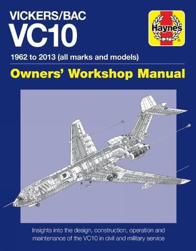 9780857337993: Vickers/BAC VC10 Manual: All models and variants (Haynes Manuals)
