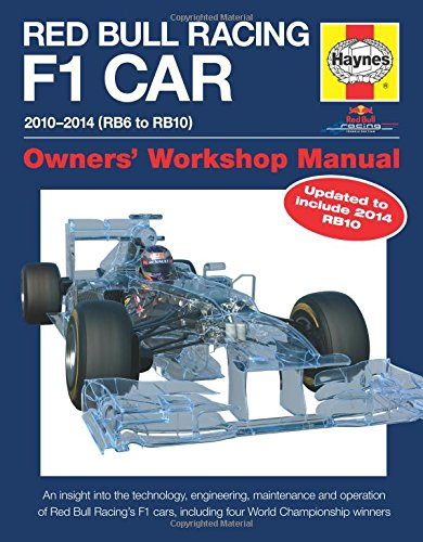 9780857338013: Red Bull Racing F1 Car Manual 2010-2014: Rb6, Rb7, Rb8, Rb9 & Rb10