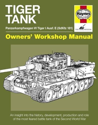 9780857338181: Tiger Tank Manual (Owners Workshop Manual)