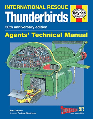9780857338235: Thunderbirds Agents' Technical Manual - 50th Anniversary Edition: International Rescue