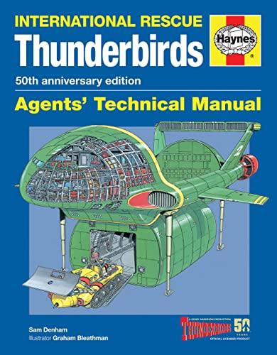 9780857338235: Thunderbirds Manual: Tb1-tb5, Tracy Island and Associated Vehicles