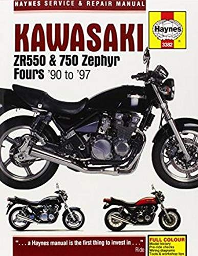 9780857338648: Kawasaki ZR550 & 750 Zephyr Fours (90-97) (Haynes Service and Repair Manuals)