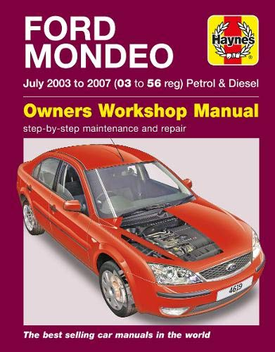 9780857338686: Ford Mondeo Petrol & Diesel 03-07 (Haynes Service and Repair Manuals)