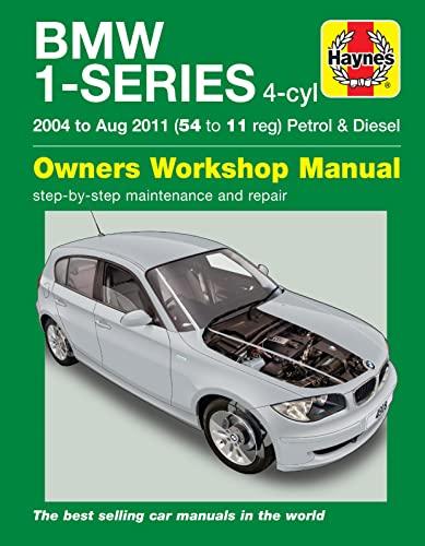 9780857338723: BMW 1-Series 4-Cylinder Petrol & Diesel 04-11
