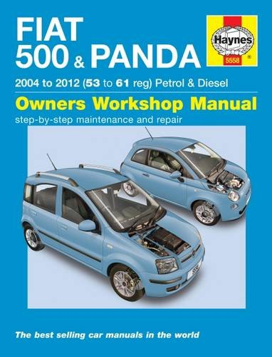 9780857338730: Fiat 500 & Panda Petrol & Diesel 04-12 (Haynes Service and Repair Manuals)