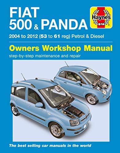 9780857338730: Fiat 500 & Panda Petrol & Diesel 04-12