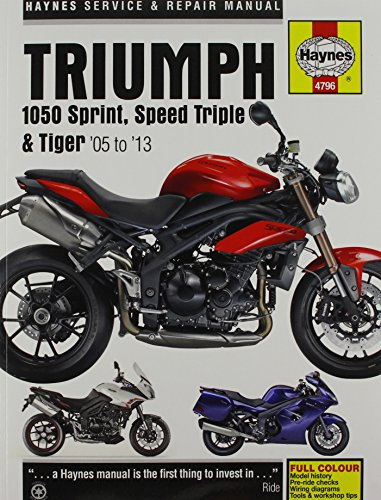 9780857338761: Triumph 1050 Sprint, Speed Triple & Tiger Service and Repair Manual (Haynes Service and Repair Manuals)