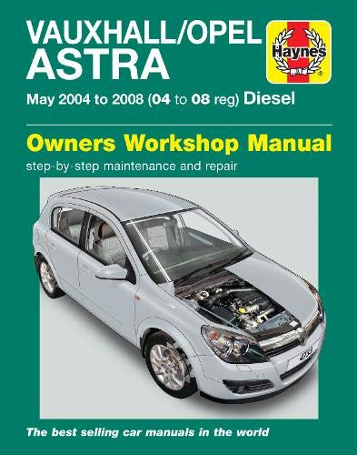 9780857338822: Vauxhall/Opel Astra (04-08) Service and Repair Manual (Haynes Service and Repair Manuals)