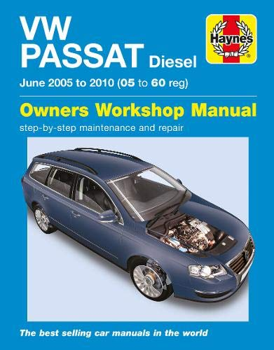 9780857338839: VW Passat Diesel (05-10) Service and Repair Manual