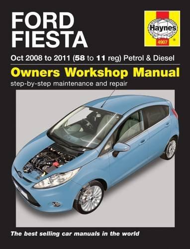 9780857338853: Ford Fiesta 08-11 Service and Repair Manual (Haynes Service and Repair Manuals)